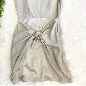 100% Silk Saks Fifth Avenue Dress With Bow